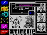 Stifflip & Co. ZX Spectrum Switching character