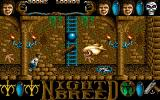 Clive Barker's Nightbreed:  The Action Game DOS Middle level game screen