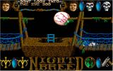 Clive Barker's Nightbreed:  The Action Game DOS Lower Level Game Screen