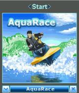 AquaRace J2ME Title screen
