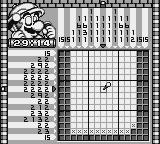 Mario's Picross Game Boy A 15 x 15 problem