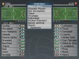 World Soccer: Winning Eleven 9 PlayStation 2 Setting up before the match...