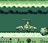 The Flintstones Game Boy Jump over obstacles on your drive home