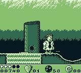The Flintstones Game Boy Jump onto logs to cross waterfalls (without falling down them)