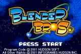 Blender Bros. Game Boy Advance Title screen.
