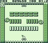 Kirby's Block Ball Game Boy Round 2
