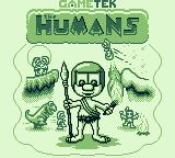 The Humans Game Boy Title screen 1
