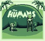 The Humans Game Boy Title screen 2