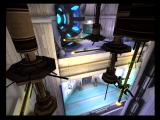 Æon Flux PlayStation 2 You'll need to climb your way across this room without falling!