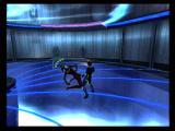 Æon Flux PlayStation 2 You have a tough opponent for this end of level fight.