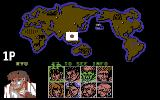 Street Fighter II Commodore 64 Character select screen