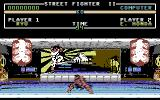 Street Fighter II Commodore 64 Ryu vs. Honda