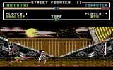 Street Fighter II Commodore 64 Dhalsim stretching his arms
