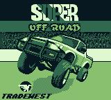 Ivan 'Ironman' Stewart's Super Off Road Game Boy Title screen