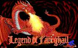 Legend of Faerghail DOS Title screen
