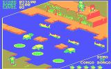 Congo Bongo PC Booter Make your way across the water in this final scene