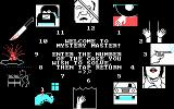 Mystery Master: Murder by the Dozen DOS Choose a mystery to solve! (CGA)