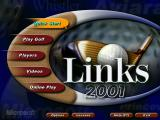 Links 2001 Windows Main menu