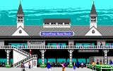 Omni-Play Horse Racing DOS Welcome to the racetrack! (EGA)