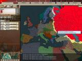 Hearts of Iron II: Doomsday Windows World political map (Europe) - Soviet Union is Red and Big!