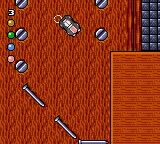 Micro Machines 2: Turbo Tournament Game Gear Trying to stay over the boards...