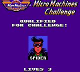 Micro Machines Game Gear Qualified!