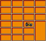 Micro Machines Game Gear This screen displays the vehicles you've collected...