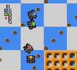 "Micro Machines Game Gear Racing ""The Breakfest Bends""."