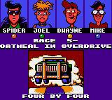 Micro Machines Game Gear Race 5 intro.