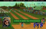 Conquests of the Longbow: The Legend of Robin Hood DOS An archery contest!
