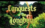 Conquests of the Longbow: The Legend of Robin Hood DOS Title screen (EGA/Tandy)
