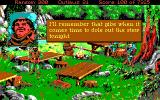 Conquests of the Longbow: The Legend of Robin Hood DOS Your hidden camp (EGA/Tandy)