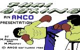 Thai Boxing Commodore 64 Title screen