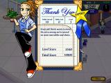 Diner Dash 2: Restaurant Rescue Windows When you finish a level, you will see your score.