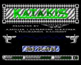 Katakis Amiga Katakis title screen