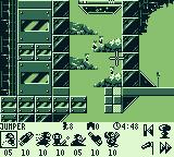 Lemmings 2: The Tribes Game Boy The Space level