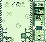 Kirby's Star Stacker Game Boy The Time Attack round
