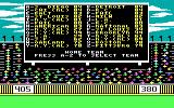 The World's Greatest Baseball Game PC Booter Selecting the teams (PCjr)