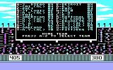 The World's Greatest Baseball Game PC Booter Selecting the teams (CGA with RGB monitor)