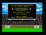 The World's Greatest Baseball Game PC Booter The main menu (CGA with composite monitor)