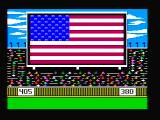 The World's Greatest Baseball Game PC Booter The national anthem plays... (CGA with composite monitor)