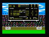 The World's Greatest Baseball Game PC Booter The scoreboard (CGA with composite monitor)