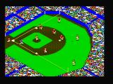 The World's Greatest Baseball Game PC Booter A hit! Running to base... (CGA with composite monitor)