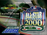All-Star Baseball 2000 Nintendo 64 Title screen.