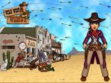 The loading screen shows one view of the wild west