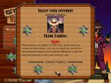 Wild West Wendy Windows The campaign mode allows you to choose your opponent from a selection of easy, normal, and difficult people.
