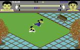 Thai Boxing Commodore 64 Fighting in a park