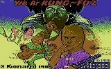 Yie Ar Kung-Fu 2: The Emperor Yie-Gah Commodore 64 Opening screen