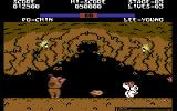 Yie Ar Kung-Fu 2: The Emperor Yie-Gah Commodore 64 Po-Chin throwing fireballs
