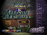 All-Star Baseball 99 Nintendo 64 Title screen.